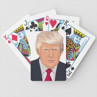 DONALD TRUMP BICYCLE PLAYING CARDS