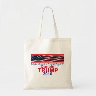 Donald Trump Bolsa Tela Barata