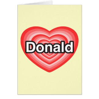 Donald Trump Card