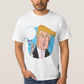 Donald Trump Cartoon Tshirt - you write caption