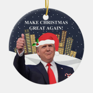 Donald Trump Christmas Tree Ornament