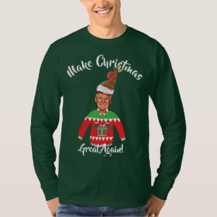 Donald Trump Ugly Christmas Sweater Gifts On Zazzle