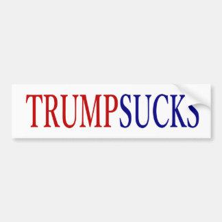 Donald Trump chupa # presidente Pegatina Para Auto