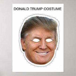 Donald Trump Costume Poster