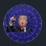 """Donald Trump Dartboard<br><div class=""""desc"""">are you not a donald trump fan? This may be for you</div>"""
