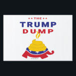 "Donald Trump Destroys the GOP Lawn Sign<br><div class=""desc"">Trump has fractured the Republican party and disrespected its values. He&#39;s taken a big dump on the GOP.</div>"