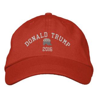 Donald Trump - elefante 2016 del presidente GOP Gorro Bordado
