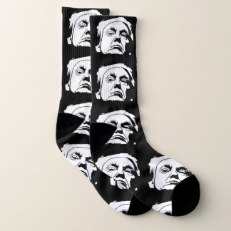 Donald Trump Face Your Background Color Socks