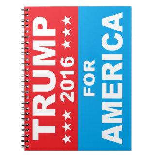 Donald Trump for America Notebook