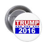 Donald Trump For President 2016 2 Inch Round Button