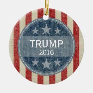 Donald Trump  for President 2016 Ceramic Ornament