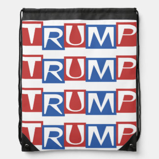Donald TRUMP for President 2016 Election Gear Drawstring Backpack