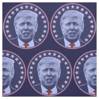 Donald Trump for President 2016 in Blue Fabric