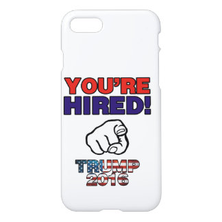 Donald Trump For President 2016 iPhone 8/7 Case