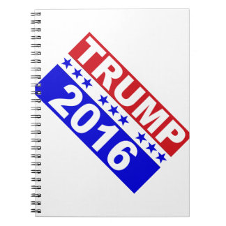 Donald Trump For President 2016 Notebook