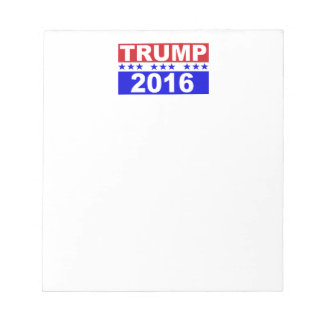 Donald Trump For President 2016 Notepad
