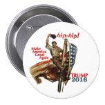 Donald Trump for President 2016 Pinback Button