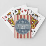 "Donald Trump  for President 2016 Playing Cards<br><div class=""desc"">Support the Republican as he runs in the primary election.</div>"