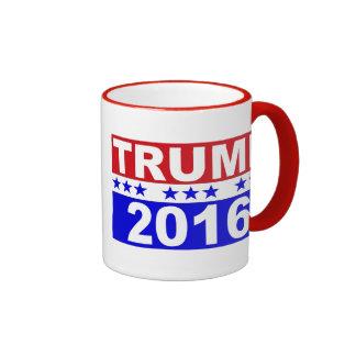 Donald Trump For President 2016 Ringer Mug