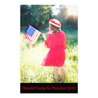Donald Trump for President 2016 Stationery