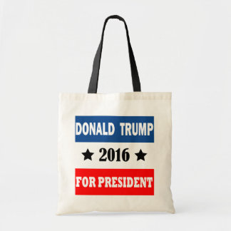 Donald Trump For President 2016 Tote Bag