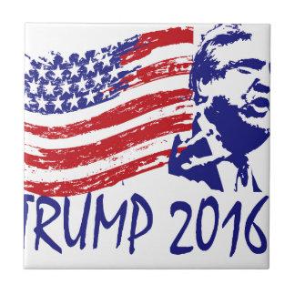 Donald Trump for President 2016 - vote republican Ceramic Tile