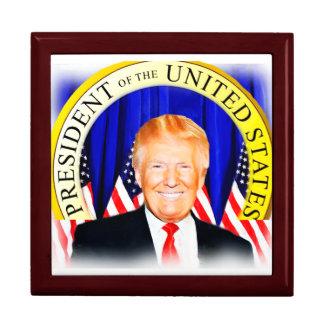 Donald TRUMP-for President of USA _ Keepsake Box