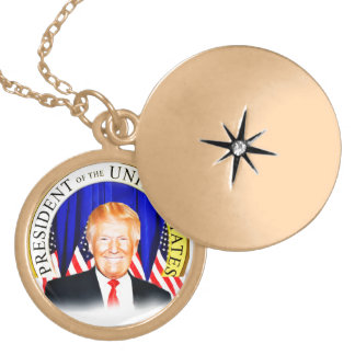 Donald TRUMP-for President of USA _ Locket Necklace