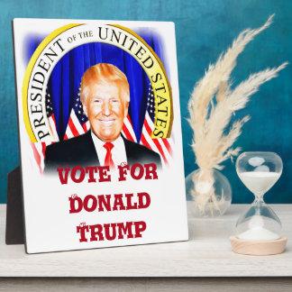 Donald TRUMP-for President of USA _ Plaque