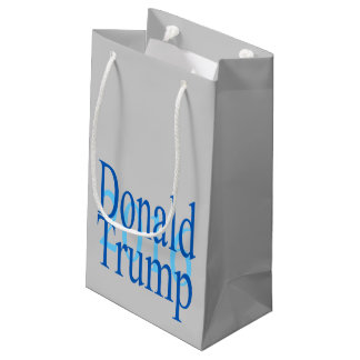 Donald Trump For President Small Gift Bag