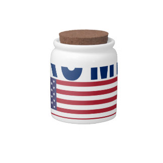 Donald Trump for President T Shirt.png Candy Jar