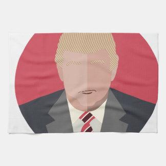 Donald Trump Graphic Representation Hand Towels