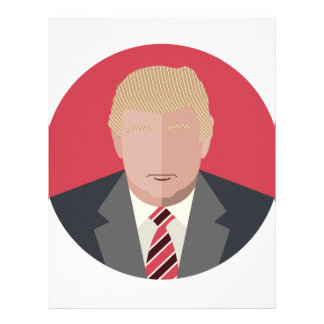 Donald Trump Graphic Representation Letterhead