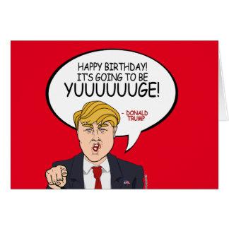 Donald Trump Greeting - Happy Birthday -.png Card