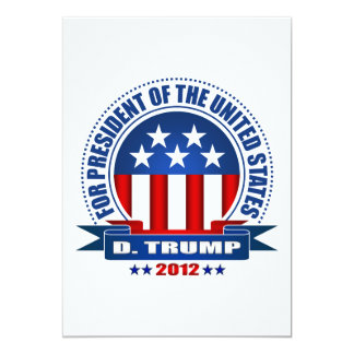 """Donald Trump Invitación 5"""" X 7"""""""