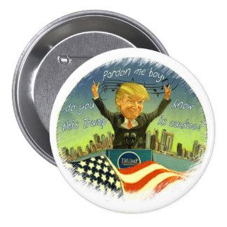Donald Trump is cuckoo Button