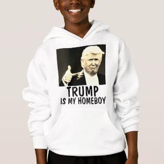 DONALD TRUMP Kids T-shirts, MY HOMEBOY Hoodie