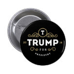 Donald Trump Luxury Pinback Button