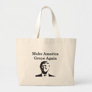 Donald Trump: Make America Grope Again Large Tote Bag