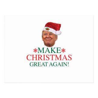 Donald Trump - Make Christmas Great Again Postcard