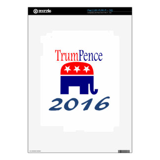 Donald Trump, Mike Pence, president iPad 2 Decal