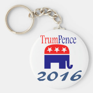 Donald Trump, Mike Pence, president Keychain