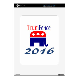 Donald Trump, Mike Pence, president Skin For iPad