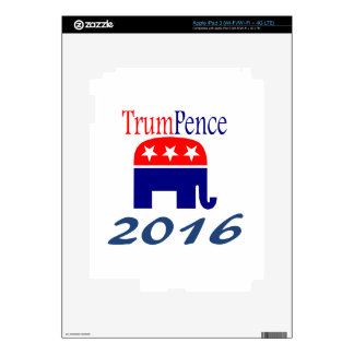 Donald Trump, Mike Pence, president Skins For iPad 3