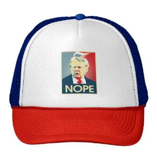 Donald Trump NOPE -- Anti-Trump 2016 - Trucker Hat