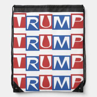 Donald Trump para el engranaje 2016 del presidente Mochila