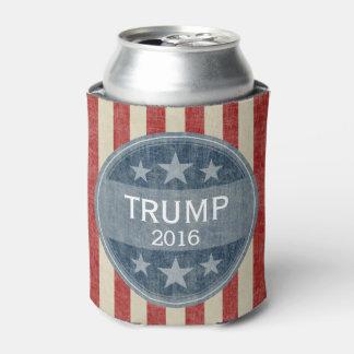 Donald Trump para el presidente 2016 Enfriador De Latas