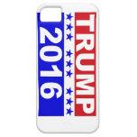 Donald Trump para el presidente 2016 iPhone 5 Funda