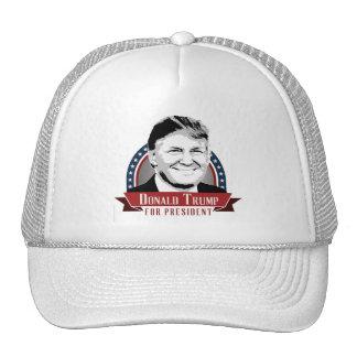 Donald Trump para el presidente 2016 Gorros