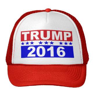 Donald Trump para el presidente 2016 Gorras